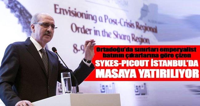 Sykes-Picot İstanbul'da masaya yatırılıyor