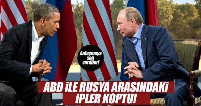 Rusya ABD ile nükleer araştırma anlaşmasını askıya aldı