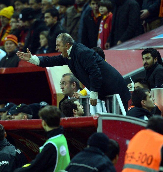 Galatasaray-Orduspor maçından kareler