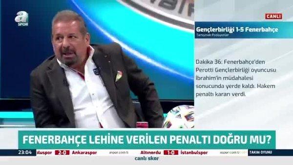 Erman Toroğlu Gençlerbirliği - Fenerbahçe maçındaki penaltıyı değerlendirdi!