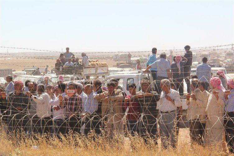 Suriyeli sığınmacılar Türkiye'ye geliyor