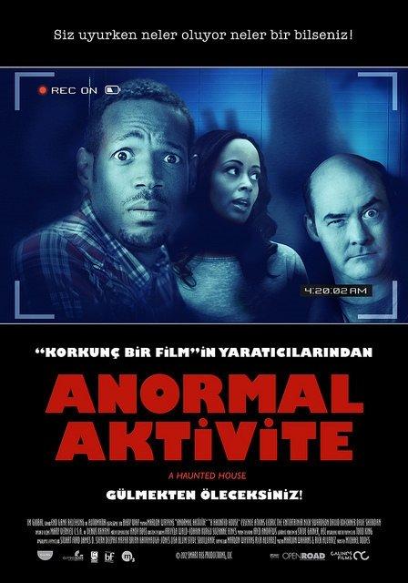 Anormal Aktivite filminden kareler