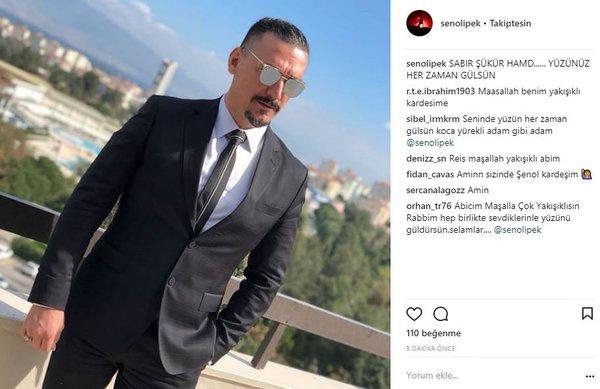 Ünlülerin Instagram paylaşımları (13.03.2018)