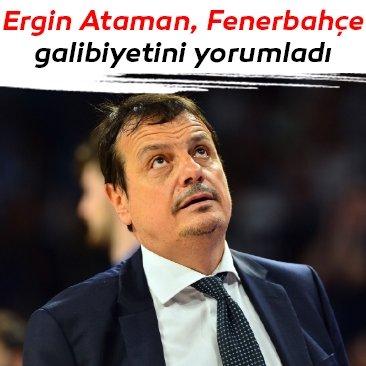 Ergin Ataman: Bir maç daha kazanmamız gerekiyor