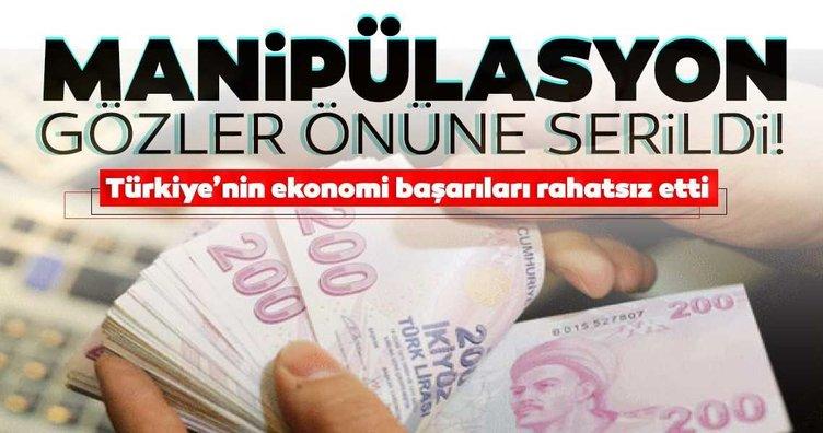 Türkiye'nin ekonomi başarıları rahatsız etti: Piyasalar üzerinden manipülasyon gözler önüne serildi!
