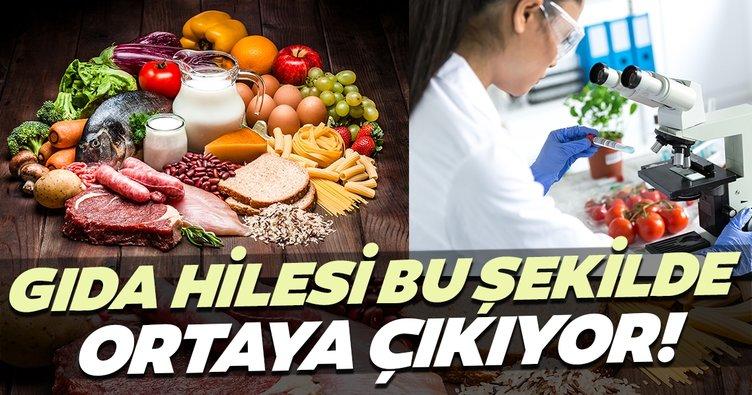İstanbul'un gıda hilesi bu şekilde ortaya çıkıyor!
