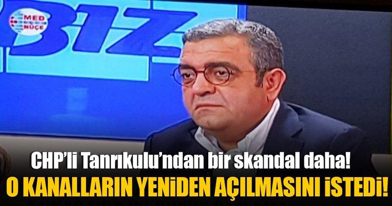 CHP'li Sezgin Tanrıkulu'dan skandal istek!