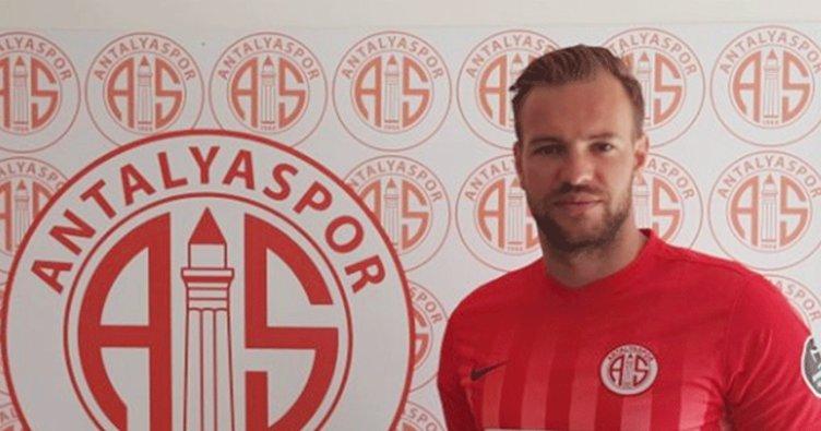 Antalyaspor, Boffin'i resmen açıkladı