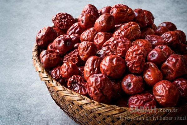 Vücuttaki pis kanı temizleyen hünnap meyvesinin faydaları nelerdir? İşte hünnap meyvesi inanılmaz faydaları...