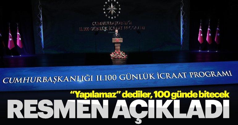 Başkan Erdoğan'ın ikinci 100 günlük eylem planı ve madde madde tarihi icraatlar!
