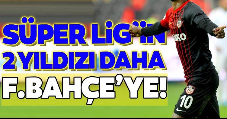 Süper Lig'in 2 yıldızı daha Fenerbahçe'ye!