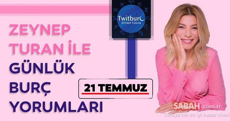 21 Temmuz 2019 Uzman Astrolog Zeynep Turan Pazar- (Astroloji) Günlük burç yorumunuz bugün nasıl?