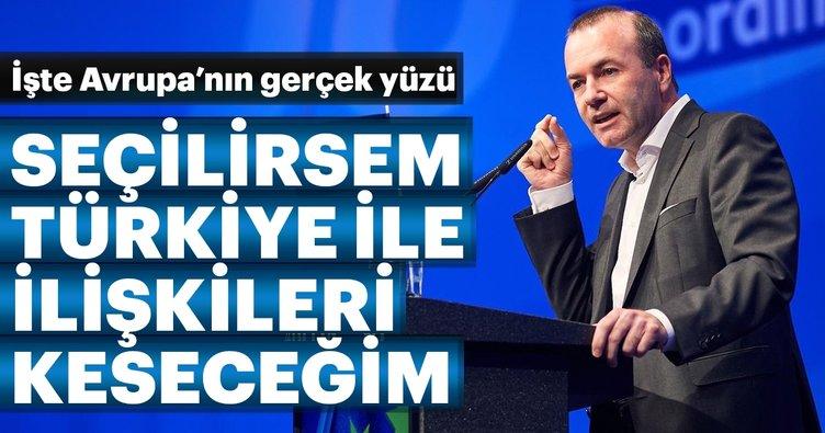 Weber: 'Seçilirsem Türkiye ile ilişkileri keseceğim' vaadi