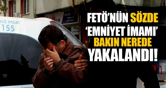 FETÖ'nün sözde 'Düzce emniyet imamı' tavan arasında yakalandı