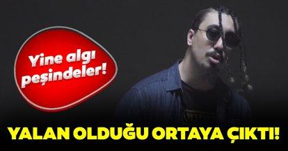 Son dakika: Rapçi Rota'nın gözaltına alındığı iddiası yalan çıktı