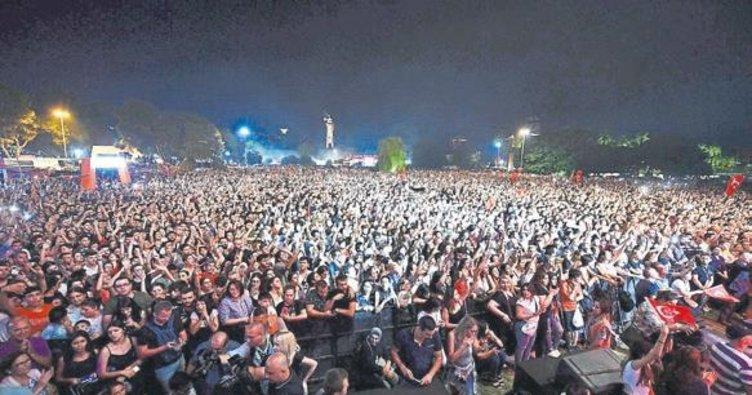 Orman konserinden 477 bin lira hasılat