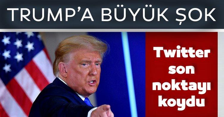 Son dakika haberi: Twitter, Donald Trump'ın hesabını kalıcı olarak askıya aldı
