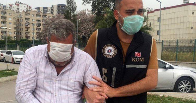 Adana'da sahte döviz operasyonu! Utancından yüzünü sakladı...