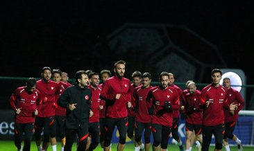 Milli takım Rusya maçına hazır