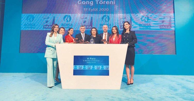 Borsa İstanbul'da gong A Para için çaldı