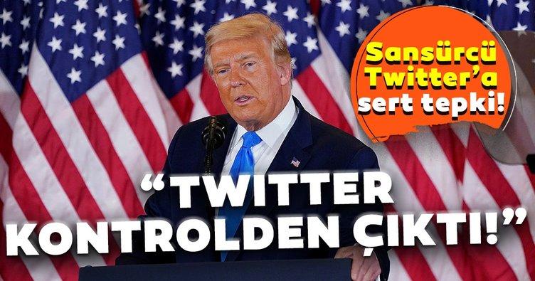 Son dakika haberi: Trump'tan flaş açıklama! Twitter kontrolden çıktı