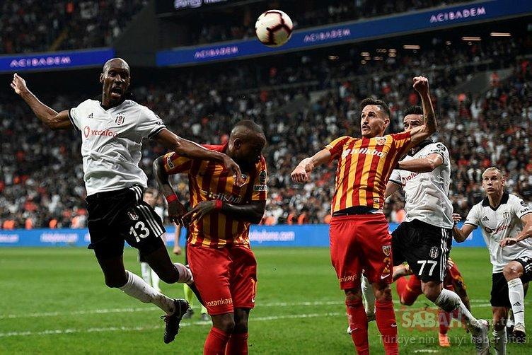 Beşiktaş'ta üç oyuncuyla yollar ayrılıyor