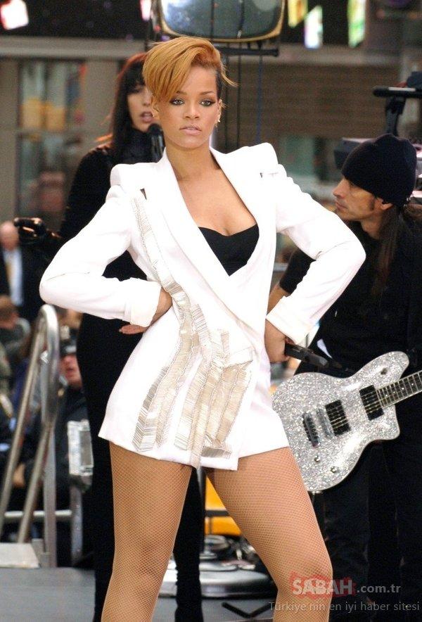 Ünlü şarkıcı Rihanna'nın dünden bugüne değişim şaşırtıyor! İşte Rihanna'nın değişimi