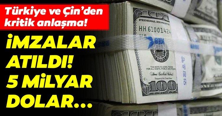 Türkiye Varlık Fonu ile Sinosure'den 5 milyar dolarlık iş birliği mutabakatı