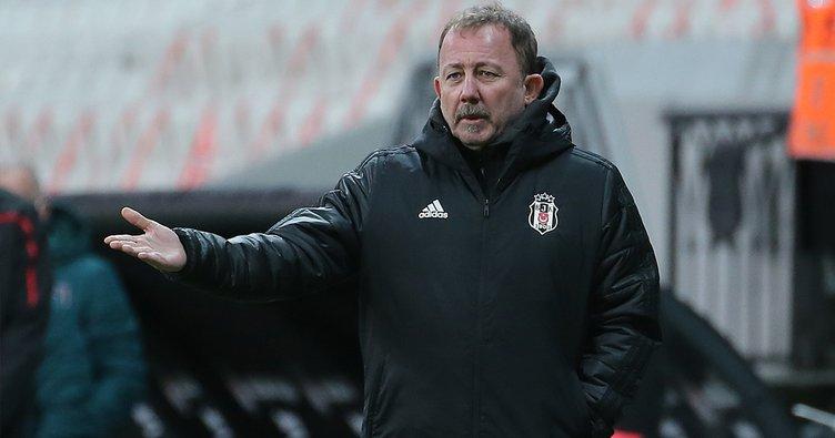 Beşiktaş Teknik Direktörü Sergen Yalçın'dan takıma eleştiri!