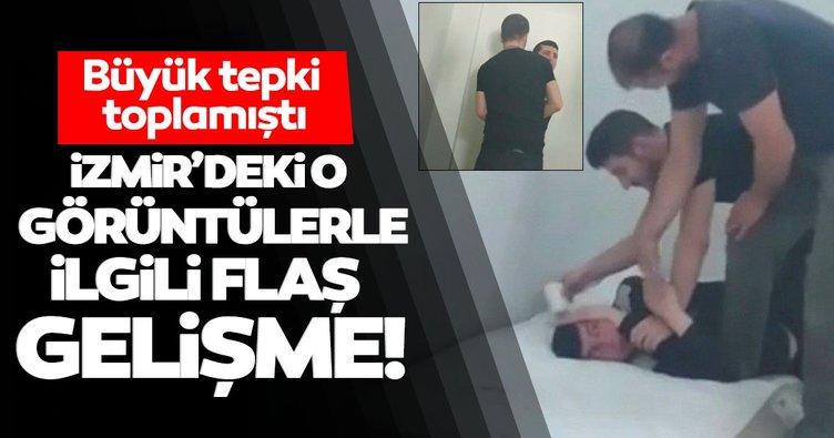 Son dakika: İzmir'de engelli bakım merkezindeki şiddet görüntülerine inceleme başlatıldı