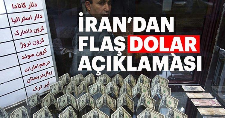 İran'dan flaş dolar açıklaması