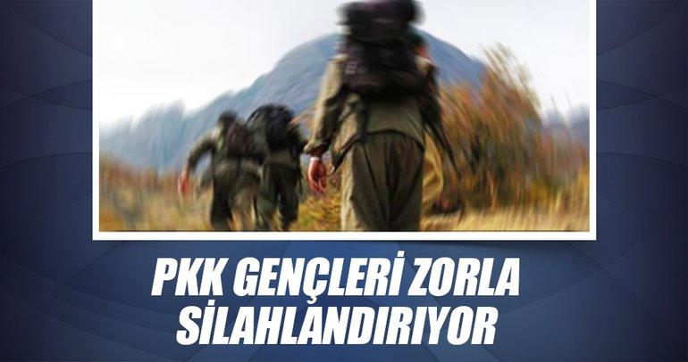 PKK gençleri zorla silahlandırıyor