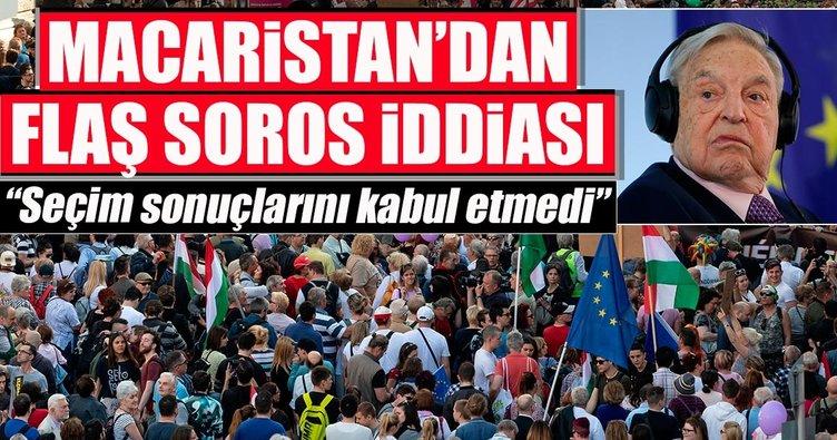 Macar Soros, Macaristan'ın cezalandırılması için Brüksel'de...