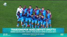Trabzonspor mağlubiyeti unuttu