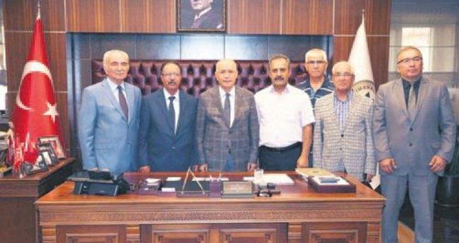 Başkan Fethi Yaşar Kırşehirlileri ağırladı