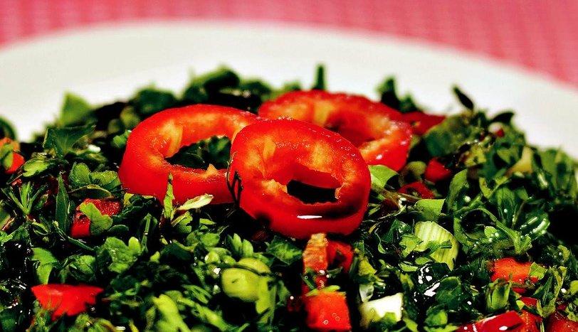 Yeşillik Salatası