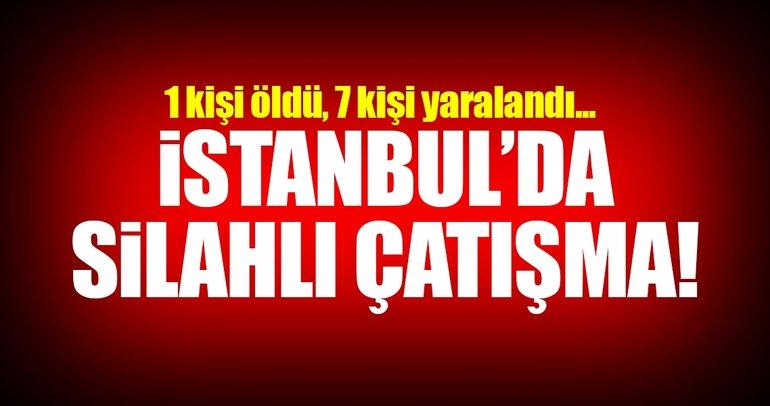 SON DAKİKA: İstanbul Güngören'de silahlı çatışma!
