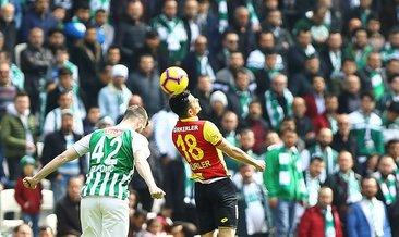 Konyaspor: 1 - Göztepe: 1 (Maç sonucu)