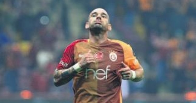 Sneijder'in kader günü