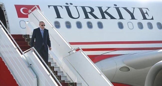 Başkan Erdoğan, BM Genel Kurulu'na katılmak için ABD'ye gidiyor