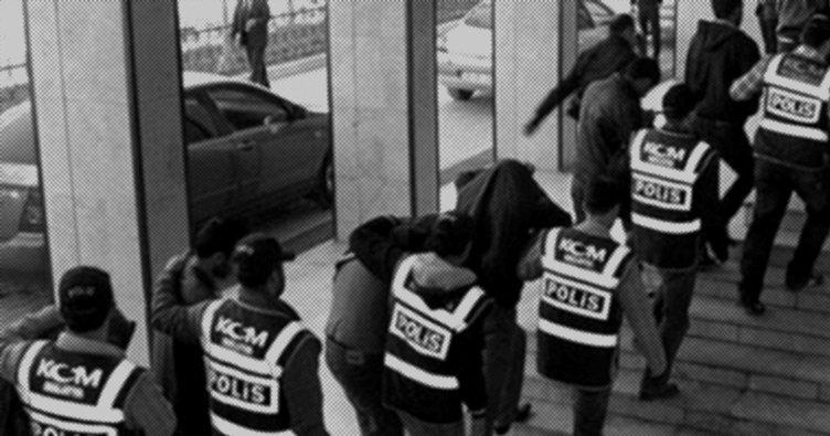 PKK/KCK operasyonunda gözaltına alınan 7 kişi adliyeye getirildi