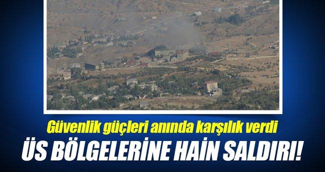 Hakkari'de PKK'dan üs bölgelerine saldırı!