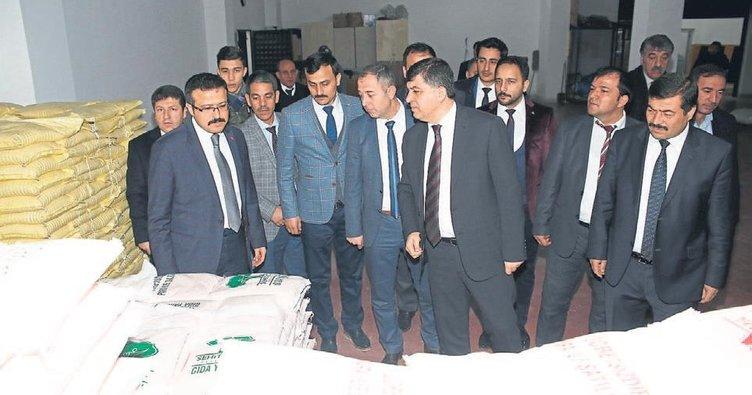 Başkan Fadıloğlu projelerini tanıttı