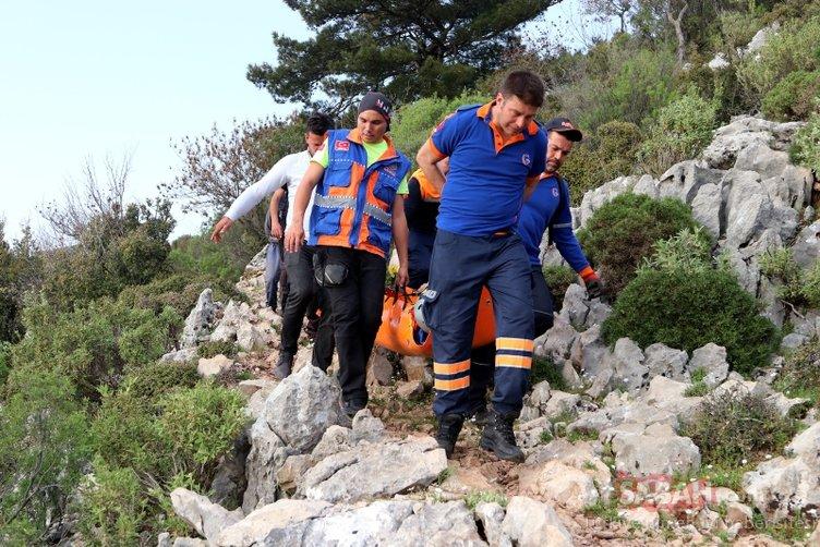 Babadağ'da yamaç paraşütü yapan ABD'li turist, kayalıklara düşerek öldü