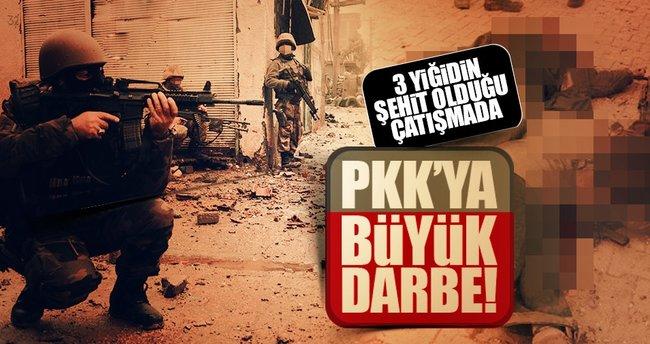 Hakkari'deki çatışmada 7 PKK'lı öldürüldü