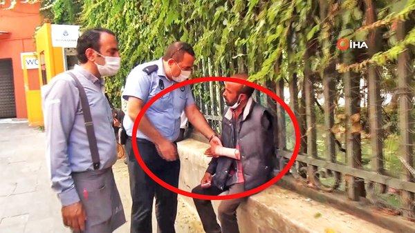 Son Dakika Haberi: İstanbul'da sakat rolü yapan dilenciden zabıtalara şok sözler   Video