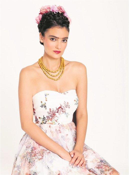 Merve Büyüksaraç, Frida Kahlo oldu