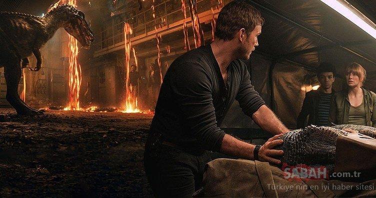 Jurassic World: Fallen Kingdom ilk haftadan zirveye yerleşti