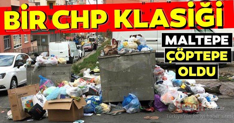 CHP'li belediye sayesinde Maltepe'de çöp dağları geri döndü. Vatandaş, ilçenin adını 'çöptepe' olarak kullanıyor