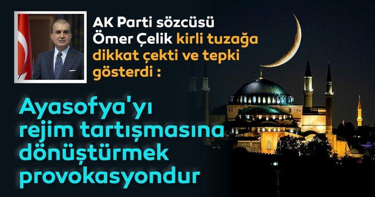 Son dakika: AK Parti sözcüsü Ömer Çelik'ten muhalefetin kutuplaştırıcı diline sert tepki